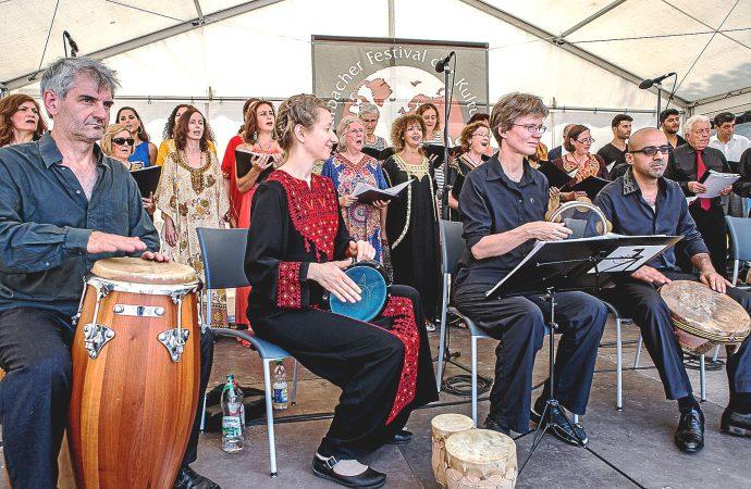 """Fête de la musique"" in Marbach"