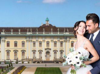 Fotoshooting für die Hochzeitsmesse
