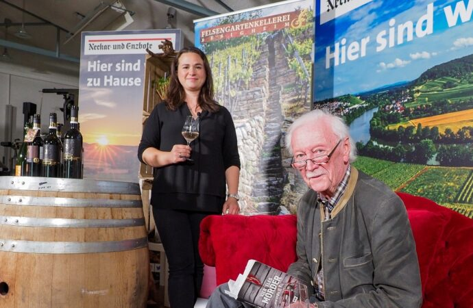 Spannende Geschichten und guter Wein